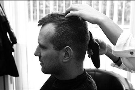 Når håret skal fixes, skal du tage at besøge FD Hairstyle! - En herreklip samt 1 stk. valgfrit produkt, værdi kr. 395,-