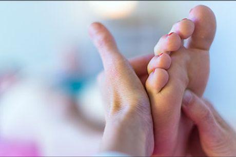 Hos Sundhed & Velvære er DU i absolut centrum! - 50 minutters Zoneterapi + 10 minutters samtale, værdi kr. 600,-