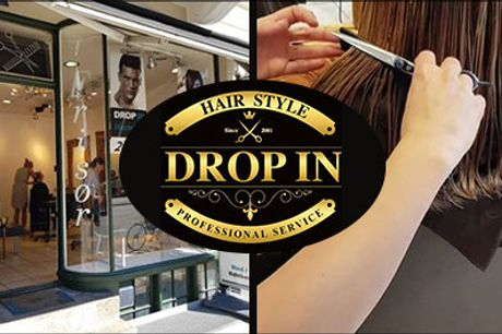 Boost dit selvværd med en dameklip hos Drop In Hairstyle i Kbh. - Dameklip inkl. vask, hårkur og føn hos Drop In Hairstyle, værdi kr. 600,-