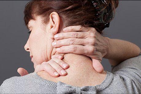 Døjer du med ømme led og muskler? - 30 min. ryg-, nakke- og skuldermassage hos The Facial Lounge, værdi kr. 450,-