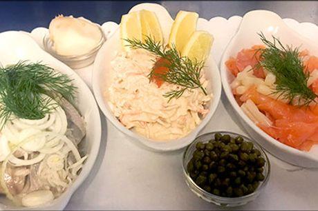 Frokostanretning for 4 pers. - Køb lækker frokostanretning for 4 personer på Restaurant Fridas, værdi kr. 916,-