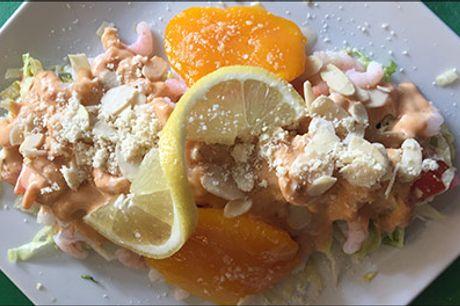 Spis godt på Shezan - Danmarks ældste Pakistanske-Indiske Restaurant - 2 retter menu for 1 person, rejecocktail special, chicken butter samt ris eller brød, værdi kr. 199,-