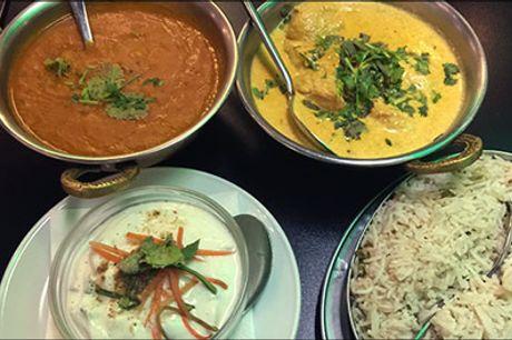 Velkommen på Restaurant Shezan på Vesterbro - Lækker 5 retters menu for 1 person, værdi kr. 363,-