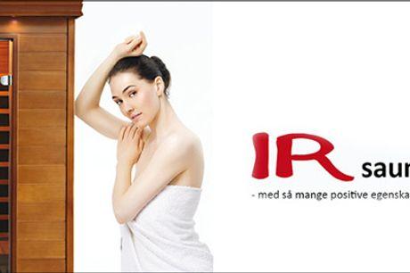 Slankende, skøn kropsbehandling hos Beauty Looks! - Kropsbehandling med infrarød sauna, massage og collagen-maske, varighed 60 minutter, værdi kr. 1200,-