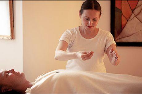 Healing kan ændre kroppens aura og vibrationer... til det bedre! - 1 times healing hos Bioenergy Therapy, værdi kr. 500,-