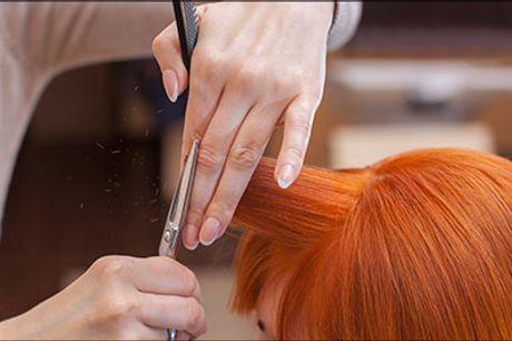 Gå weekenden i møde med lækkert hår! - Dameklip inkl. striber (en farve), kur, vask og føn hos Frisør Kløve, værdi kr. 1500,-