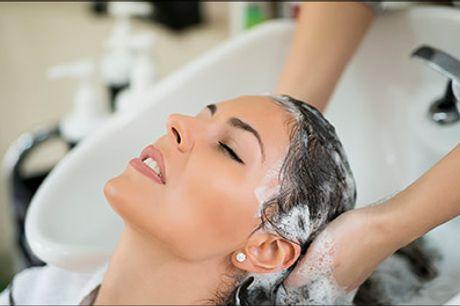 Få lavet flot og naturligt farvespil i håret hos Adrianahaar.dk på Østerbro - Balayage eller Ombre hårfarvning inkl. vask, hårkur og føn, værdi kr. 1870,-