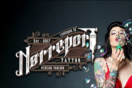 Professionel tattoo specialdesignet til dig! - Tatovering, vælg ml. 2 tilbud hos Nørreport Tattoo Parlour, normalpris op til kr. 3000,-