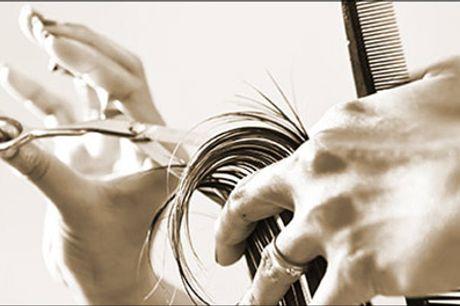 Vi er klar til at give dig en god frisøroplevelse! - Dameklip inkl. vask, hårkur og føn hos Tika House of Hair, værdi kr. 555,-