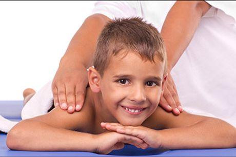 Særligt gunstigt til at forebygge eller komme sig efter sygdom! - Raindrop massage til børn ell. voksne hos Studio Kirlita, normalpris op til kr. 850,-