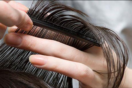 Trænger du til at få gjort noget ved frisuren, kig ind til Salon Scan-Hair - Dameklip, striber, vask, kur, hovedbundsmassage, føn, værdi kr. 1430