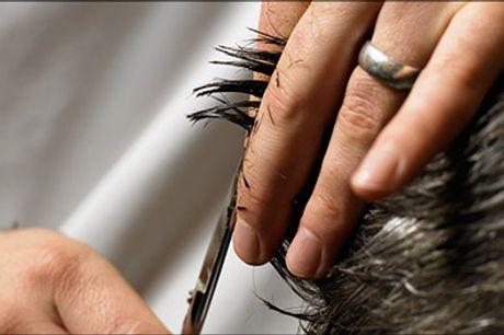 Velkommen hos Salon Scan-Hair, din kreative frisør i Brønshøj - Benyt dig af dealen på herreklip, hovedbundsmassage, vask, føn og kur, værdi kr. 325,-