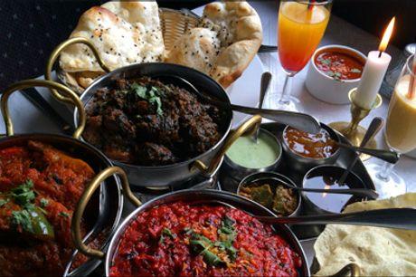 Smag på de Lækreste indiske specialiteter på Østerbro - Maharaja SARDAR MENU for 1 person på Maharaja Restaurant Østerbro, værdi kr. 399,-