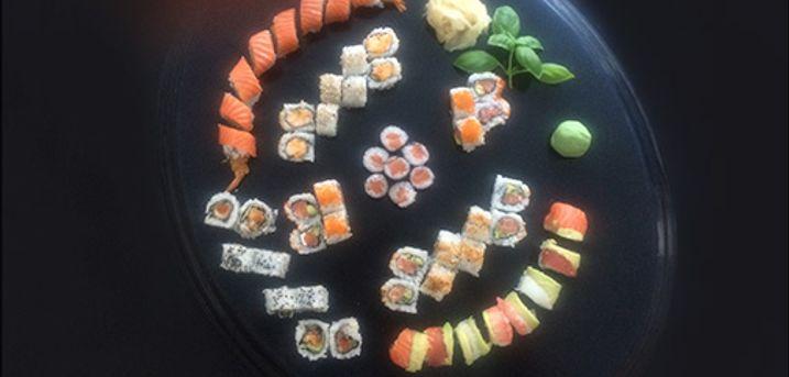 Prøv den lækre årsmenu.. - Lækker luxe årsmenu fra Sushi One, værdi kr. 557,-