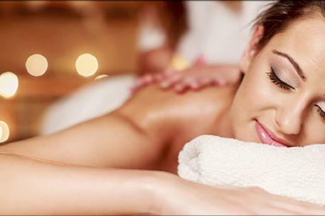 Pirrer dine sanser og får dig til at slappe af! - 30 min. aromamassage hos Århus Fiskespa, værdi kr. 425,-