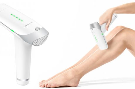 IPL Hjemme laser Apparat  - Permanent hårfjerning, foryng huden og reducer porer / akne!