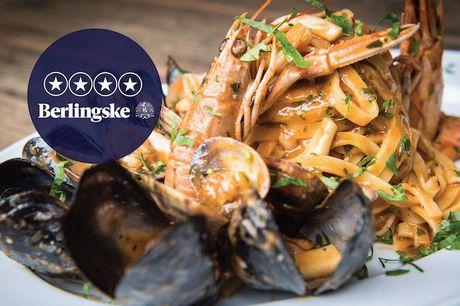 Spis med 33%. L'Imperatore: Italienske specialiteter fra siciliansk-fødte chefkok Armando anmeldes til 4 stjerner.