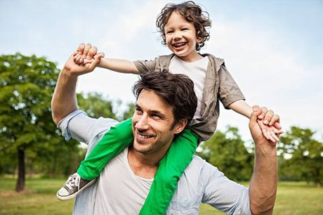 Relembre os momentos de cumplicidade entre Pai e Filho. Sessão fotográficaMe&Daddy, desde 19,90€