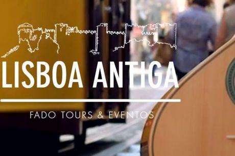 Aproveite Lisboa! Fado Vadio: Passeio Pedestre, Espectáculo Fado e Jantar, desde 87,90€