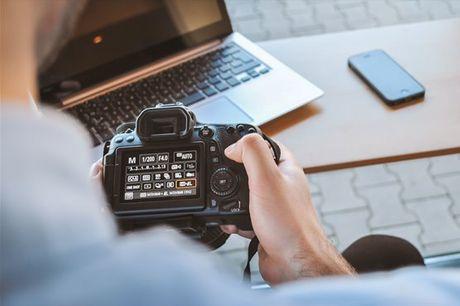 100% Fotografia! Melhore os seus conhecimentos fotográficos. Aula Particular, para 1 ou 2 pessoas, desde 24,90€.