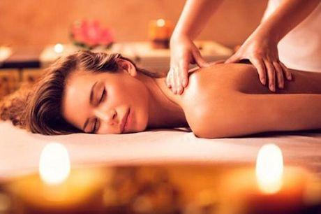 Venha usufruir dos benefícios da Massagem Relaxamento, 8 sessões, por apenas 75€