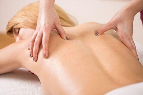 Dê descanso ao seu corpo! 1 Sessão de Massagem terapêutica, por apenas 11,9€ em Belas
