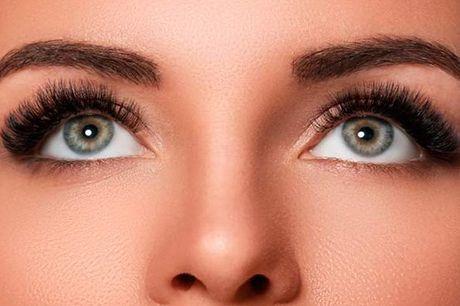 Faça os seus olhos brilharem com Extensão de pestanas, fio a fio ou 3D, por apenas 20€