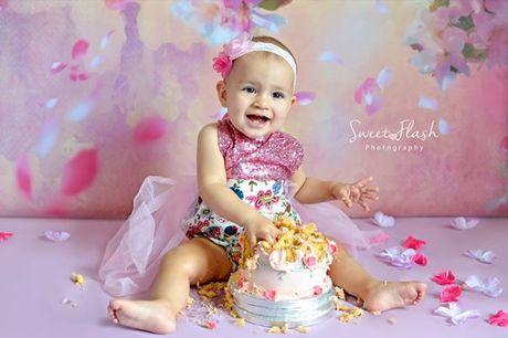 1º Aniversário do seu filho? Recorde esses doces momentos com uma Sessão Fotográfica Smash the Cake, por apenas 99,90€
