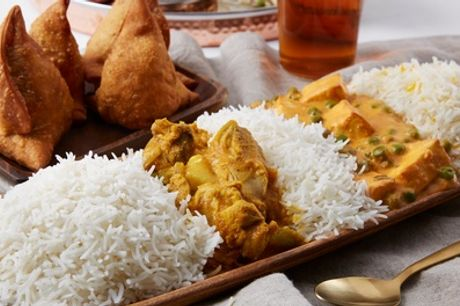 Two-Course Indian Meal with Sides for Two or Four at Nurtaj