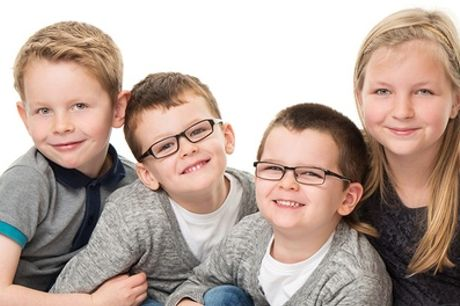 a Studio, Home or Location Family Portrait Plus Framed Print or Canvas from Portraiture