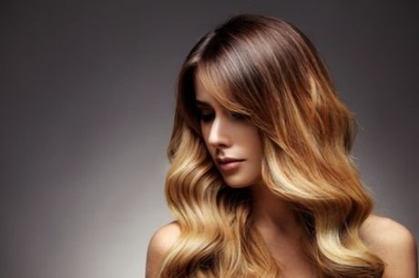 Cut and Blow-Dry with Optional Half-Head Highlights or Full Head of Colour at Gabriela Hair and Beauty