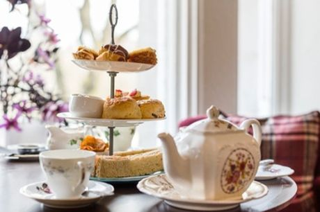 Gin and Tonic Afternoon Tea for Two or Four at Mercure Aberdeen Caledonian Hotel