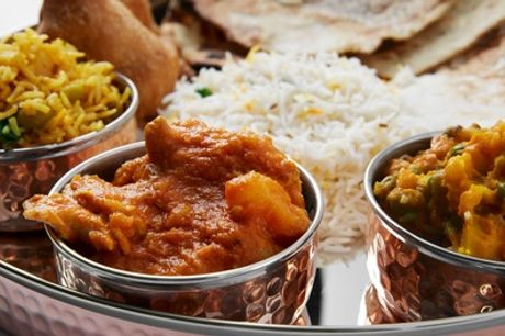 Indian Takeaway for Two at Khyber Pass