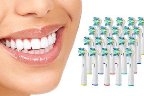 Hasta 16 cabezales para cepillo de dientes compatible con Oral B en variedad de modelos a elegir