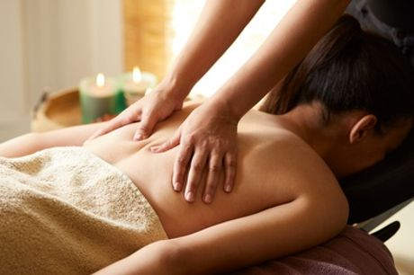 Back, Neck and Shoulder Massage and Optional Deep Cleanse or Microdermabrasion Facial at Christal Beauty