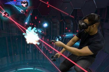 Experiencia de realidad virtual de hasta 60 minutos para 1 o 2 personas desde 9,95 € en Vive Virtual Madrid