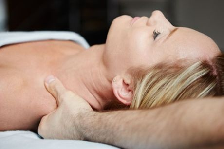 Back, Neck and Shoulder Massage with Optional Afternoon Tea and Fizz at Fiona Oates Beauty Rooms