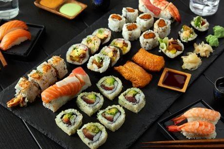 De Clercqstraat: sushibox met 20, 40 of 60 stuks afhalen bij Zuma Sushi in Amsterdam-West