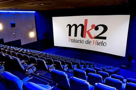 1 entrada al cine para 1 persona en mk2 Palacio de Hielo