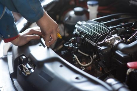 54-Point Car Service, Oil and Filter Change and Optional Engine Diagnostic Check at Cardiff Trade Centre