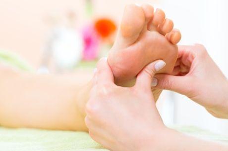 45 Minuten Fußreflexzonen-Massage inkl Anamnese bei Heilpraktikerin ZinaidaSokolova (bis zu 65% sparen*)