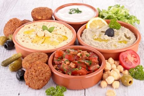 Choice of Six or Twelve Meze at The Stuffed Olive