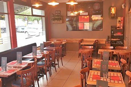 Menu brasserie avec entrée/plat ou plat/dessert ou entrée, plat et dessert pour 2 pers. chez Le Bistrot Far