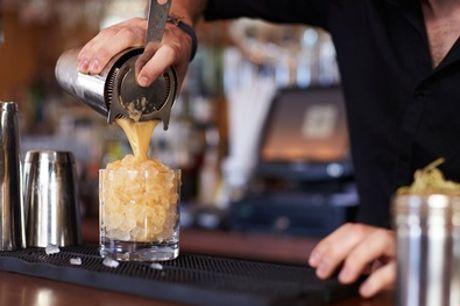 Hartje Den Haag: uitgebreide cocktail-workshop voor 1-6 personen bij Bar Eleven