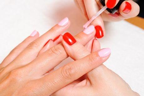 Gel Manicure with Optional Gel Pedicure at Bounce Salon