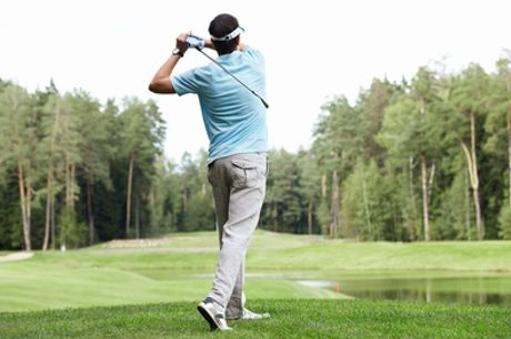 One or Two Golf Lessons for One or Two with Option to Include Nine Holes of Golf at Ruddington Grange