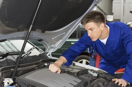 50-Point Car Service with an Oil Change and MOT at AutoCare MOT Centre