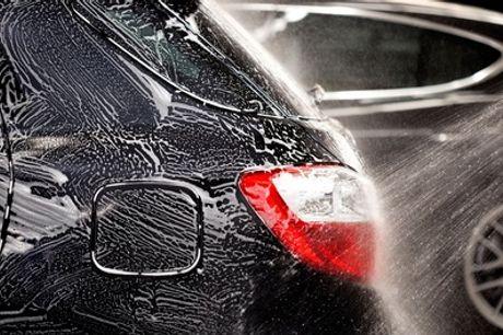 Lavado completo interior y exterior con opción a pulido de faros y petroleadodesde14,95 € en Autolavado MM