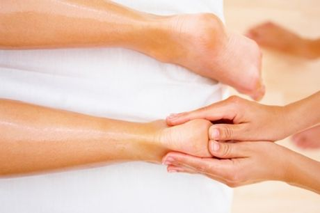 Reflexology with Reiki at Crystal Rose Therapies