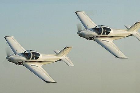 Initiation au pilotage de 2 x 40min en DUO, 2 avions partout en France avec White Bird Découverte..